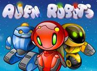 Alien Robots Slot logo