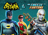 Batman and Mr Freeze Fortune Slot logo