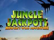 Jungle Jackpots: Mowgli's Adventure Slot logo