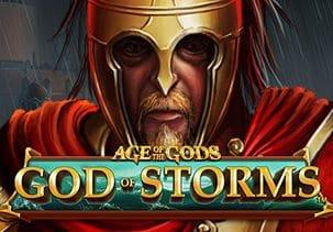 Age of Gods: God of Storm Slot logo