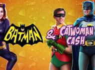 Batman and Catwoman Cash Slot logo