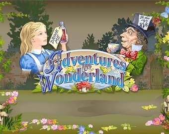 Adventures in Wonderland Slot logo