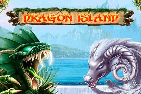 Dragon Island Slot logo