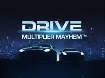 Drive: Multiplayer Mayhem Slot logo