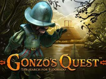 Gonzo's Quest Slot logo