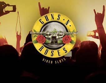 Guns N' Roses Slot logo