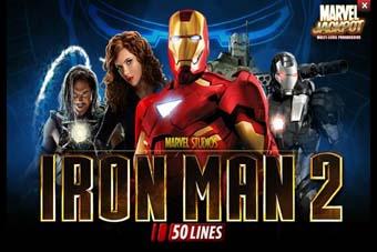 Iron Man 2 Slot logo