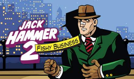 Jack Hammer 2 Slot logo