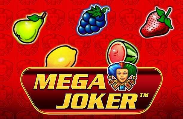 Mega Joker Novomatic Slot logo