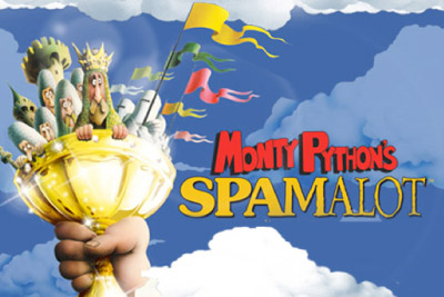 Monty Python's Spamalot Slot logo