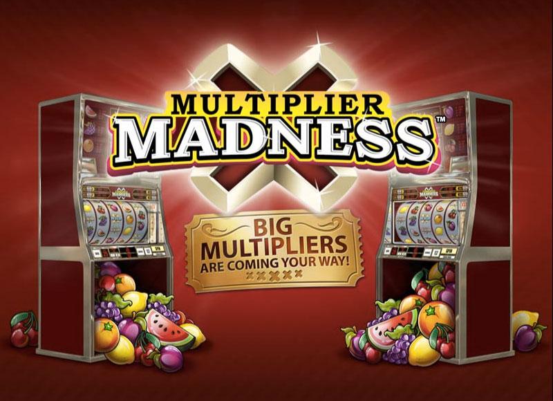 Multiplier Madness Slot logo