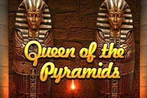 Queen of the Pyramids Slot logo