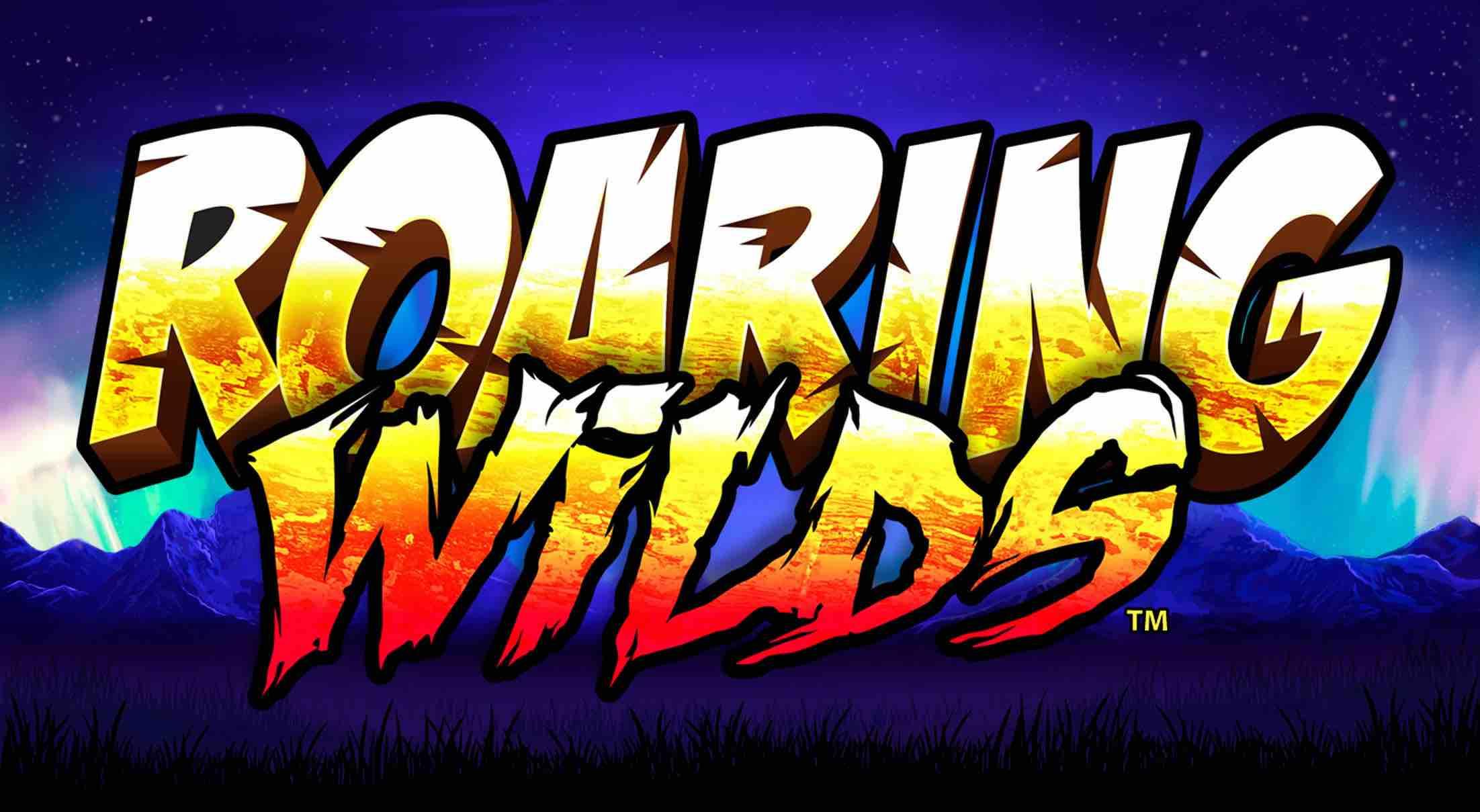 Roaring Wilds Slot logo