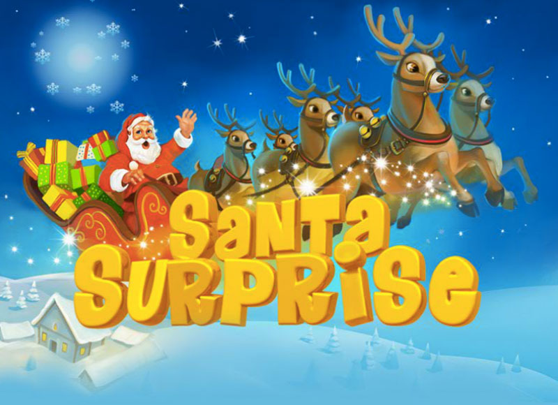 Santa Surprise Slot logo