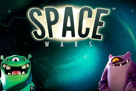 Space Wars Slot logo