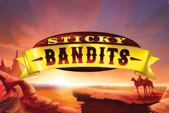 Sticky Bandits Slot logo