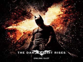 The Dark Knight Rises Slot logo