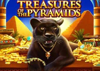 Treasures of the Pyramids Slot logo