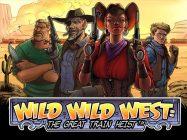 wild-wild-west-train-heist-slot-logo